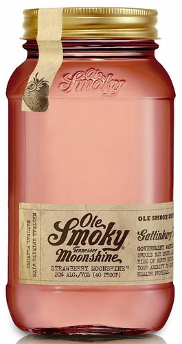 Home » Whiskey & Bourbon » Ole Smoky Strawberry Flavored Moonshine