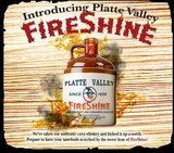 Platte Valley Fireshine Flavored Whiskey