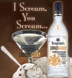 Seagram's Cookies & Cream Vodka 1L