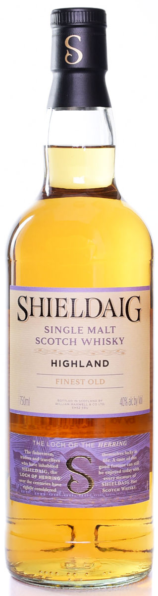Shieldaig Highland Finest Old Single Malt Scotch