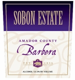 Sobon Estate Barbera Amador County (case of 12)