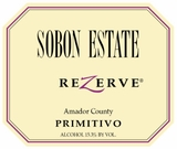 Sobon Estate Primitivo Rezerve (case of 12)