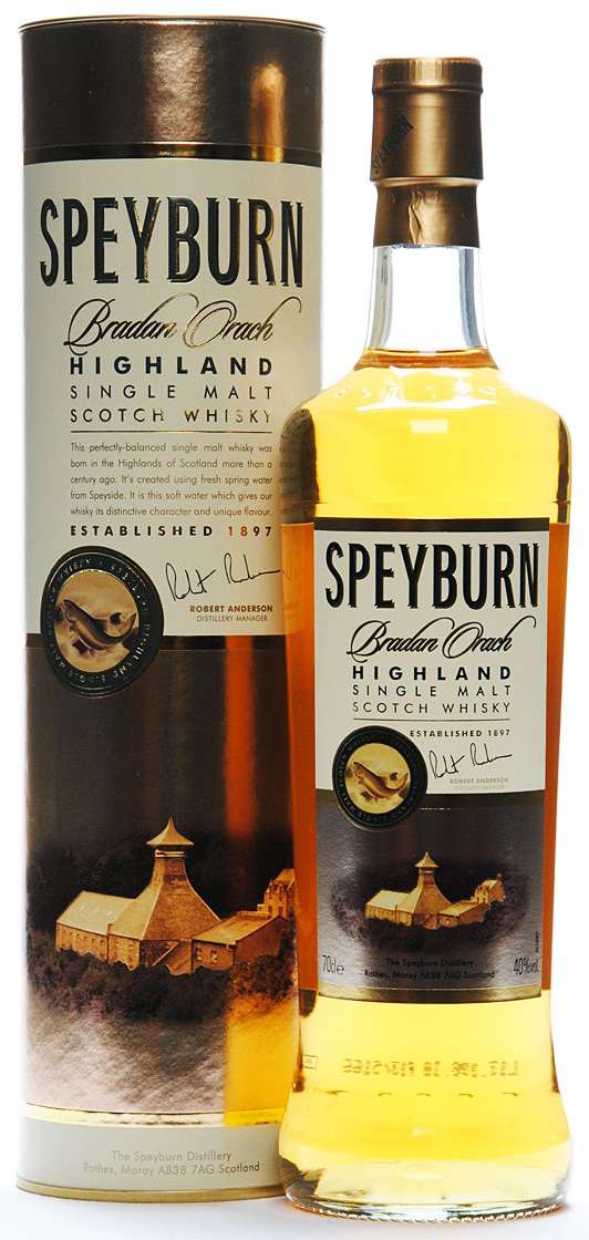 Speyburn Bradan Orach Single Malt Scotch