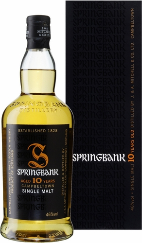 Springbank 10 Year Old Single Malt Scotch