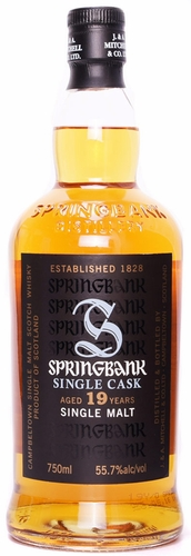 Springbank 19 Year New Rum Cask Single Malt Scotch