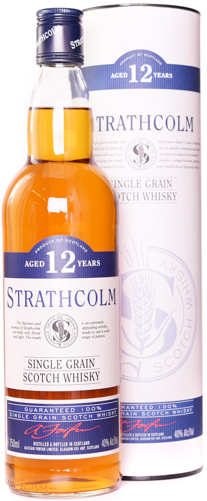 Strathcolm 12 Year Old Single Grain Whisky