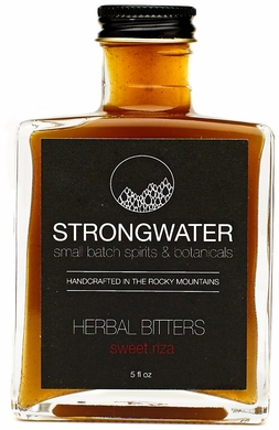 Strongwater Sweet Riza Herbal Bitters