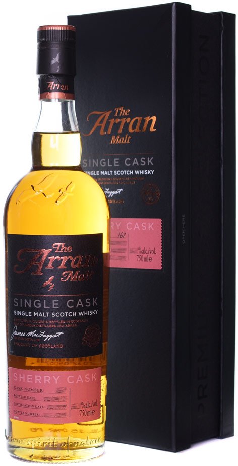 The Arran Malt Sherry Cask Finished Single Malt Scotch