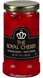 The Royal Cherry Maraschino Cherries with Stems 10oz