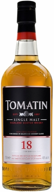 Tomatin 18 Year Old Single Malt Scotch