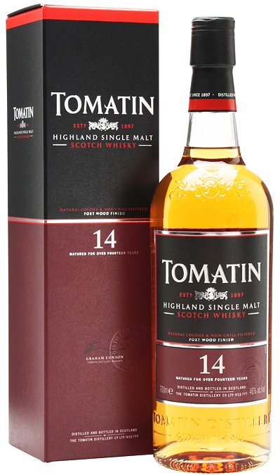 Tomatin Portwood Finished 14 Year Old Single Malt Scotch