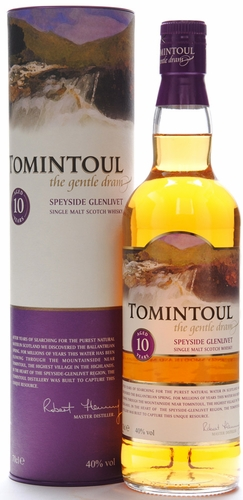 Tomintoul 10 Year Old Single Malt Scotch