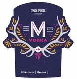 Twin Spirits M Vodka 375ml