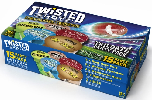 Twisted Shotz Tailgate Party Pack