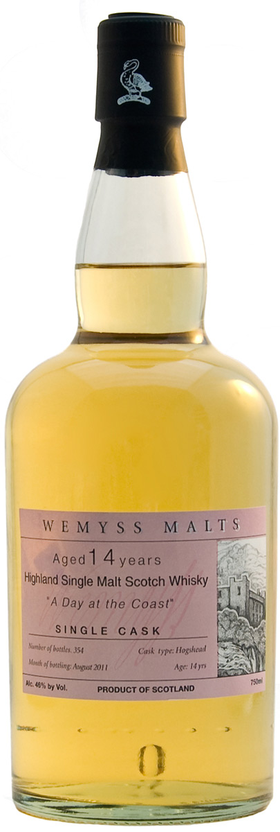 Wemyss Malts 'A Day at the Coast' 14 Year Old Single Malt Whisky