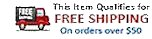 Qualifies for free shipping