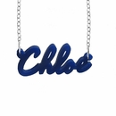 Acrylic name necklace �Chloe�