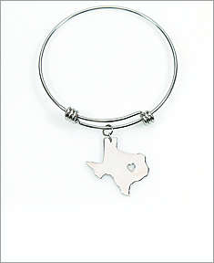 Adjustable State Bangle