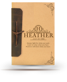 Leather Bound Note book