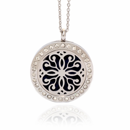 Aromatherapy Essential Oil Diffuser Necklace