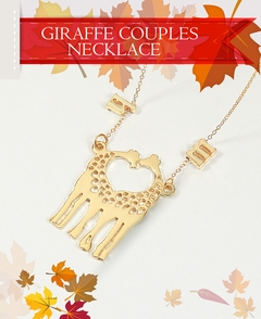 Giraffe Couples Necklace