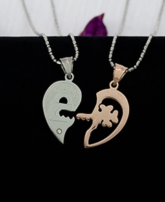 Couple Key of Your Heart Pendants