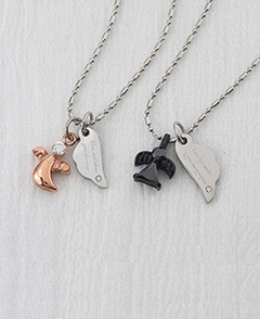 Couple Love Will Show You the Way Pendants