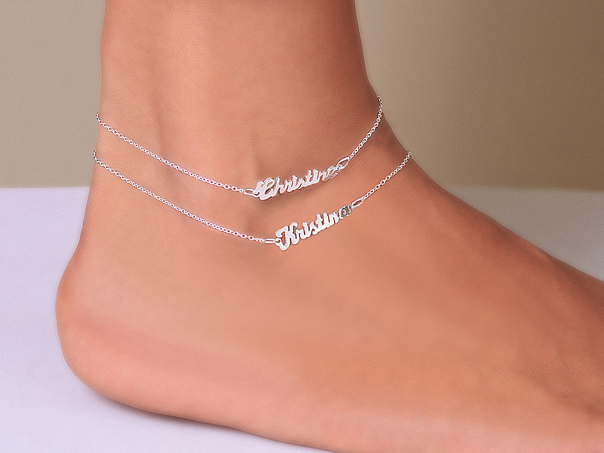 Golden or Silver Anklet Foot Jewelry. Sterling SilverPlating Anklet Foot Jewelry. 1 Pcs Anklet Bracelet. Material Sterling Silver Plating. Color: Silver / Golden. Green Color and 5-star. Orig Gold Silver Ankle Bracelet Women Anklet Adjustable Chain Foot Beach Jewelry UK. £ Buy it now.