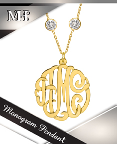 Monogram Pendants
