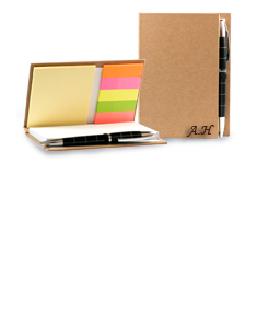 Personalized Note Book With Sticky Notes And Flags