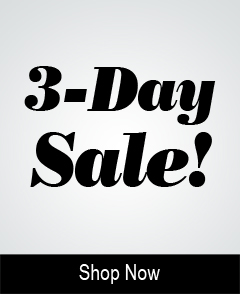 3 Day Sale!