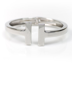 Stainless Steel 'H' Bangle