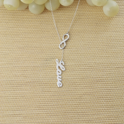 """Falling In Love Forever"" Necklace."