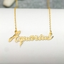 Hand Made Zodiac name necklace