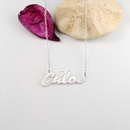 "Name Necklace ""Chloe"""