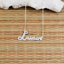 "Script Name Necklace ""Lauren"""