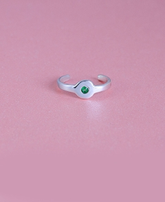 Toe Ring With Birthstone