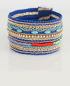 Vintage Blue Fashion Bracelet