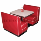 Child's Diner Booth Set<br>2 Benches, Table/Base