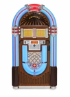 iJuke Bluetooth Deluxe Full Size Jukebox-Walnut<br>CR1206A-WA