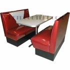 "Vintage Zodiac ""V"" Booth Set<br>2 Benches + Boomerang Table/Base"