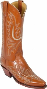 Ladies Lucchese Classics Mayela Peanut Tuscany Buffalo Leather Custom Hand-Made Boots L4560