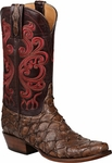 Lucchese Classics Mens PIRARUCU FISH Cowboy Boots - 2 Styles