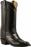 Mens Lucchese Classics Black Calf Custom Hand-Made Leather Boots L1653