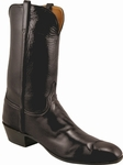 Mens Lucchese Classics Black Calf McKay Sole Custom Hand-Made Leather Boots L1530