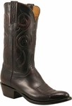 Mens Lucchese Classics Black Cherry Custom Hand-Made Leather Boots L1700