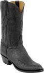 Mens Lucchese Classics Black Elephant Custom Hand-Made Cowboy Boots L1227