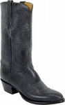 Mens Lucchese Classics Black Oil Calf Leather Custom Hand-Made Boots L1542