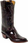 Mens Lucchese Classics Brown Kangaroo Leather Custom Hand-Made Boots L1502