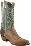 Mens Lucchese Classics Buck Oil Calf Custom Hand-Made Leather Boots L1626